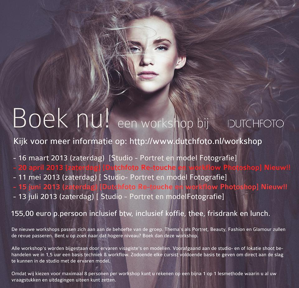 Workshops Dutchfoto 2013