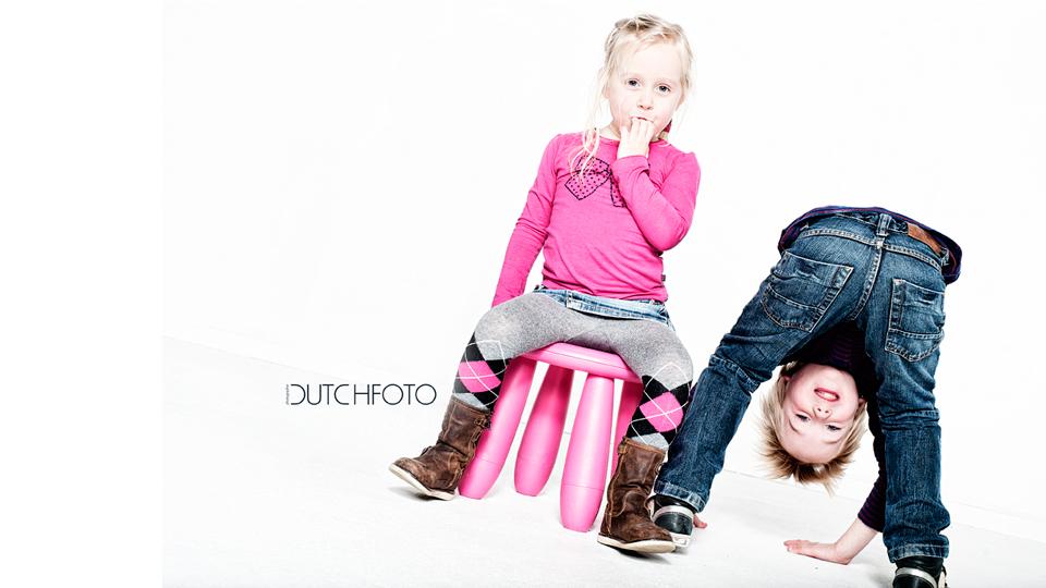 Bram, Mara en Noor namen bezit van de studio | Dutchfoto